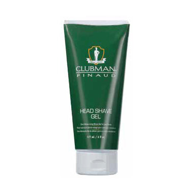 Clubman Head Shave Gel 6 fl oz