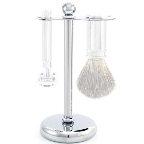 Edwin Jagger Imitation Tortoiseshell Small Brush Stand