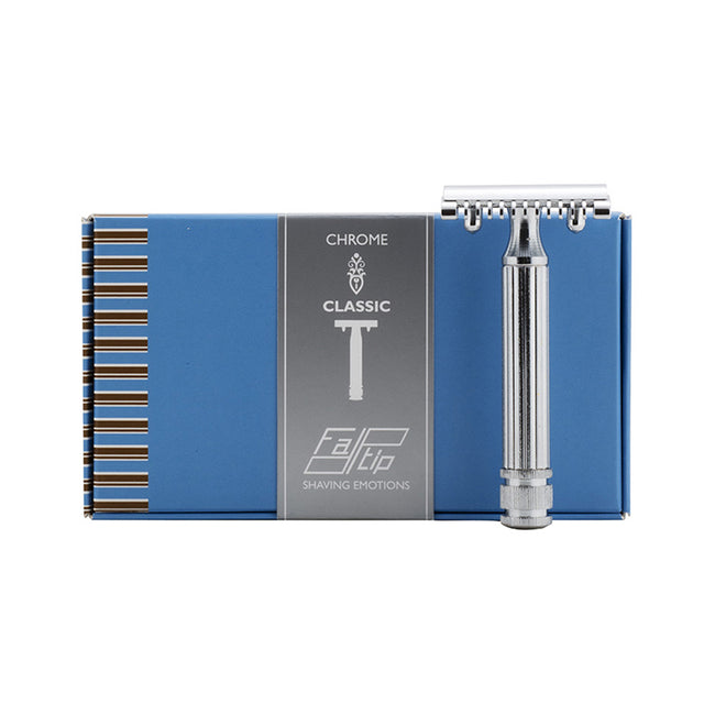 Fatip Chrome Classic Original Open Comb DE Safety Razor