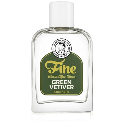 Fine – Green Vetiver - Aftershave Splash