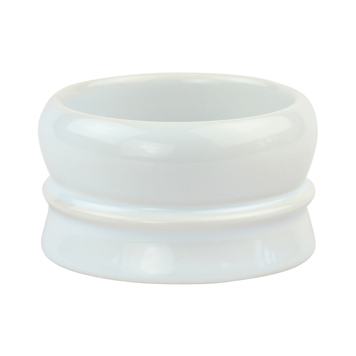 Fine - White Shave Soap Bowl