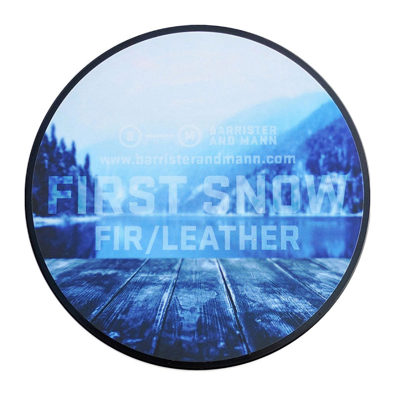 Barrister and Mann – First Snow Glissant Tallow Shaving Soap (Essential Oil + Fragrance Oil)