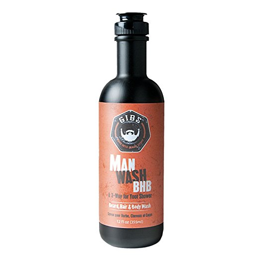 Gibs Man Wash – Beard, Hair & Body