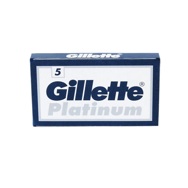 Gillette Platinum DE Safety Razor Blades - 5 pack
