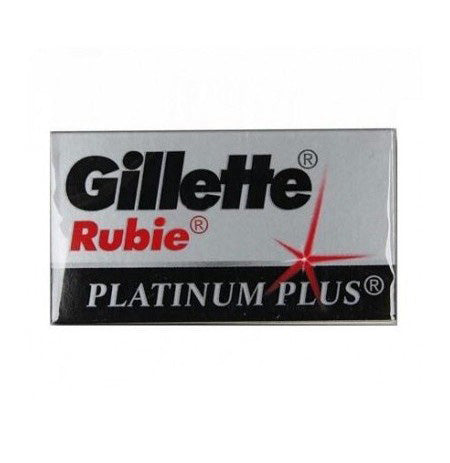 Gillette Rubie Plus DE Safety Razor Blades - 5 pack