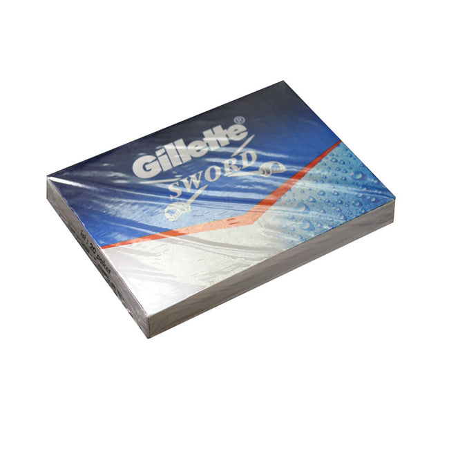 Gillette Sword DE Safety Razor Blades - 100 pack