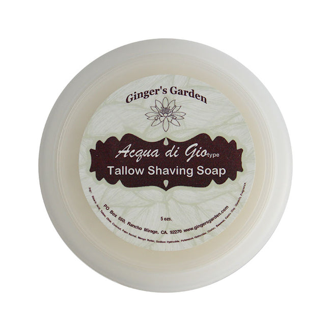 Ginger's Garden - Acqua Di Gio - Shaving Soap