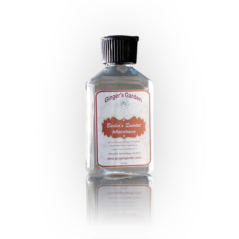 Ginger's Garden - Barber's Quartet - Aftershave Splash