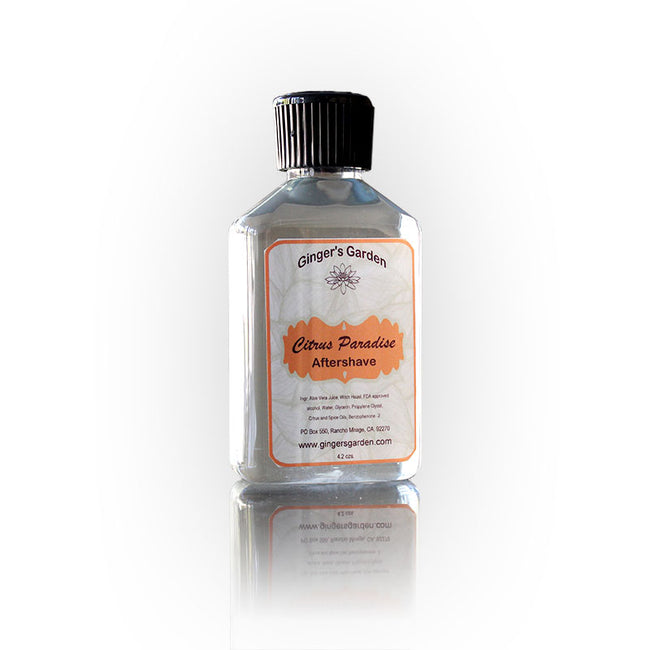 Ginger's Garden - Citrus Paradise - Aftershave Splash