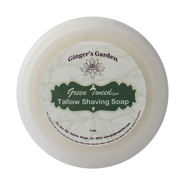 Ginger's Garden - Green Tweed Type - Shaving Soap