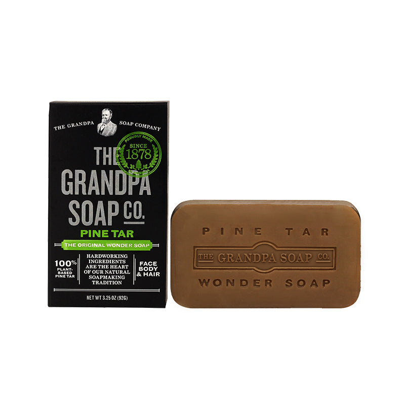 The Grandpa Soap Co - Pine Tar The Original Wonder Soap 3.25 oz. - Bar Soap