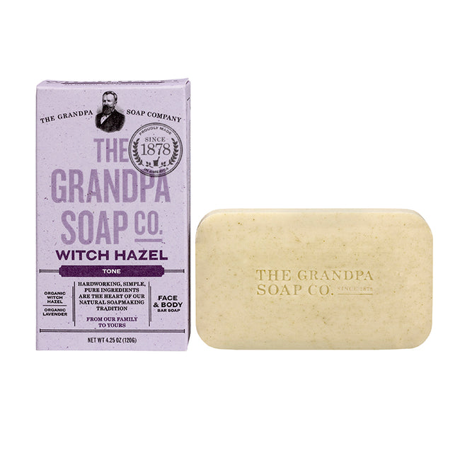 The Grandpa Soap Co - Witch Hazel Tone 4.25 oz. - Bar Soap