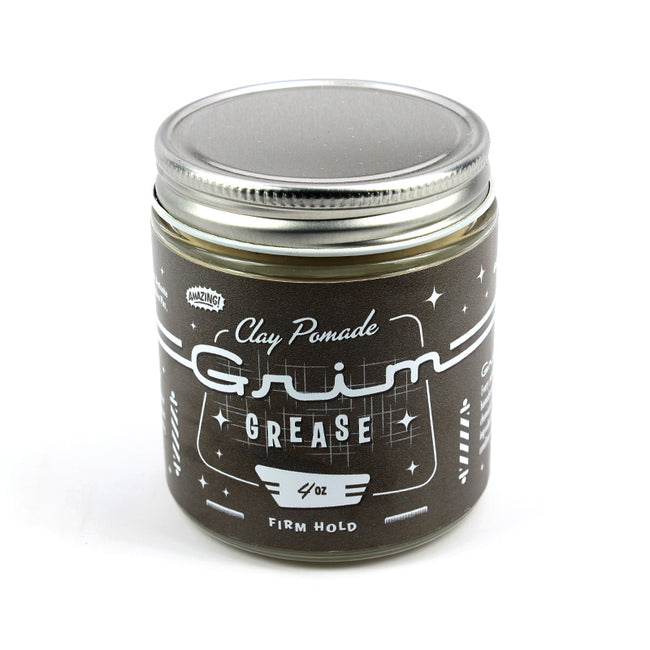 Grim Grease -  Firm Hold Water Based Clay Pomade
