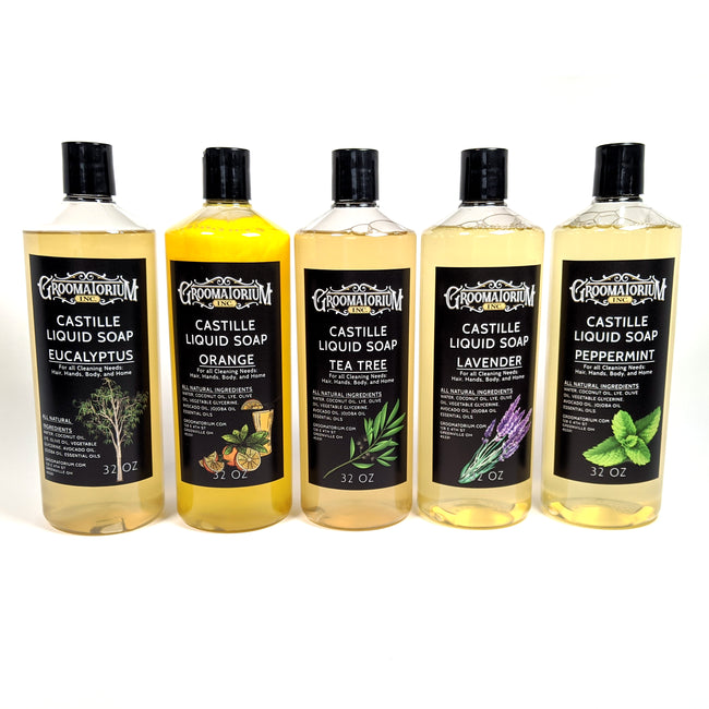 Liquid Castile Soap by Groomatorium