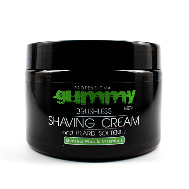 Gummy Brushless Shaving Cream Menthol 10oz