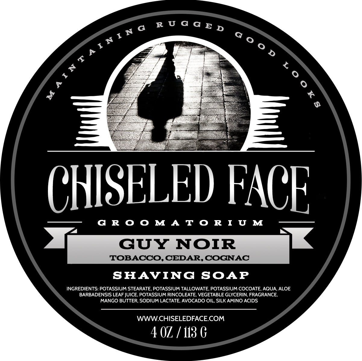 Chiseled Face – Guy Noir – Shaving Soap