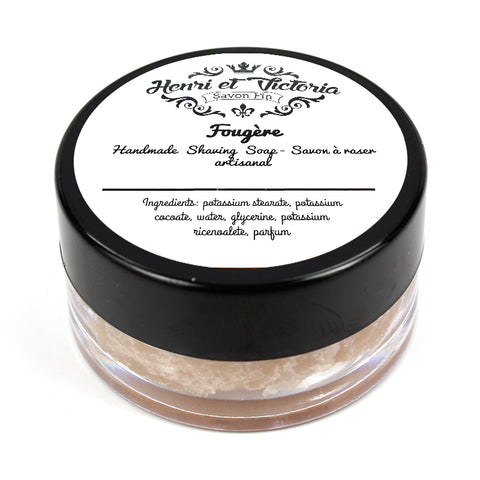 Henri et Victoria - Unscented Shaving Soap Sample