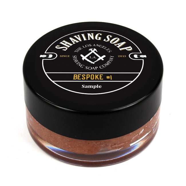 LA Shaving Soap Co. - Bespoke #1 Shaving Soap Sample