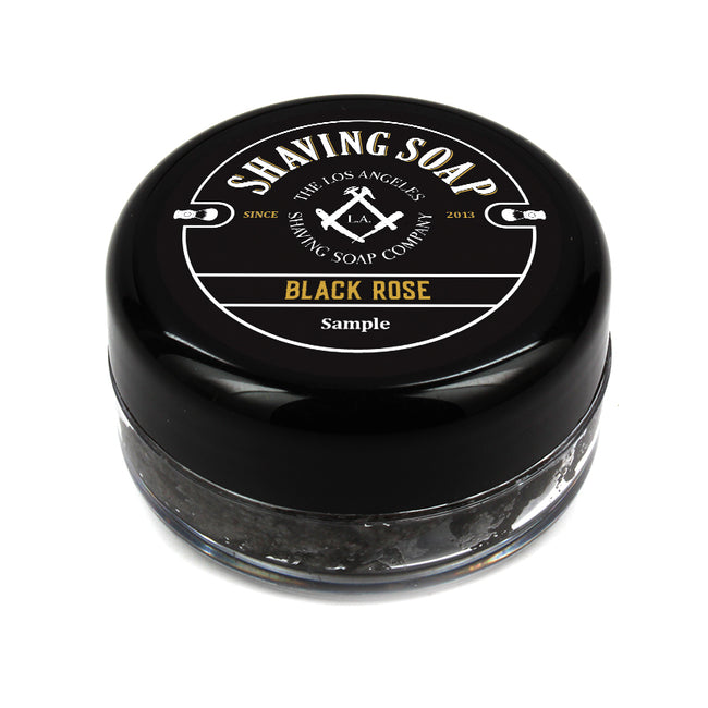 LA Shaving Soap Co. - Black Rose Shaving Soap Sample