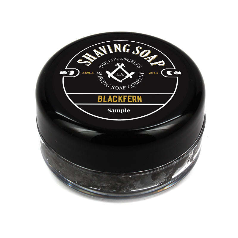 LA Shaving Soap Co. - Blackfern Shaving Soap Sample