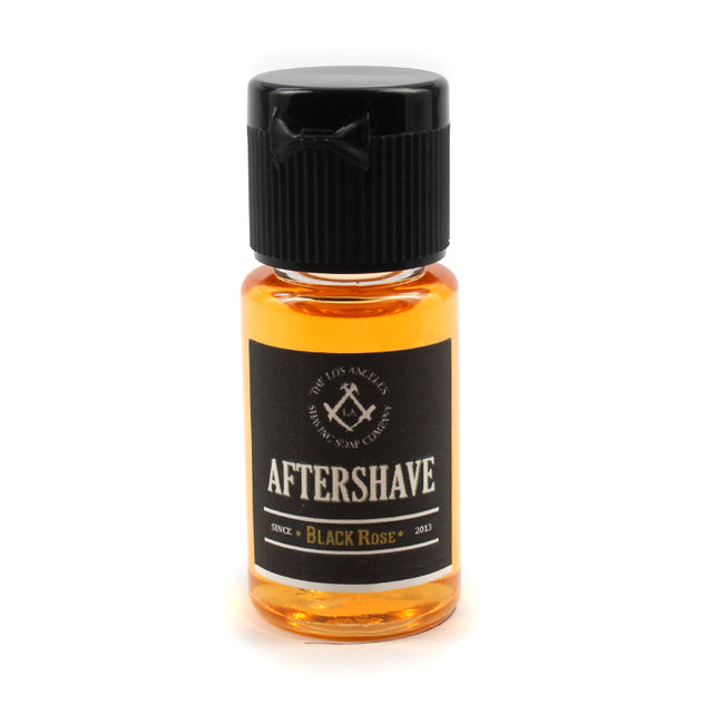 LA Shaving Soap Co - Black Rose Aftershave Splash Sample