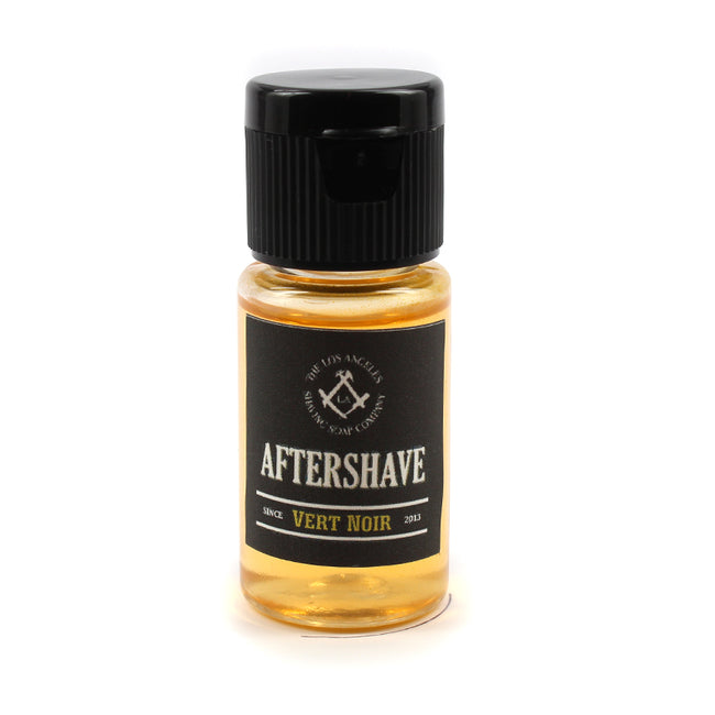 LA Shaving Soap Co - Vert Noir Aftershave Splash Sample