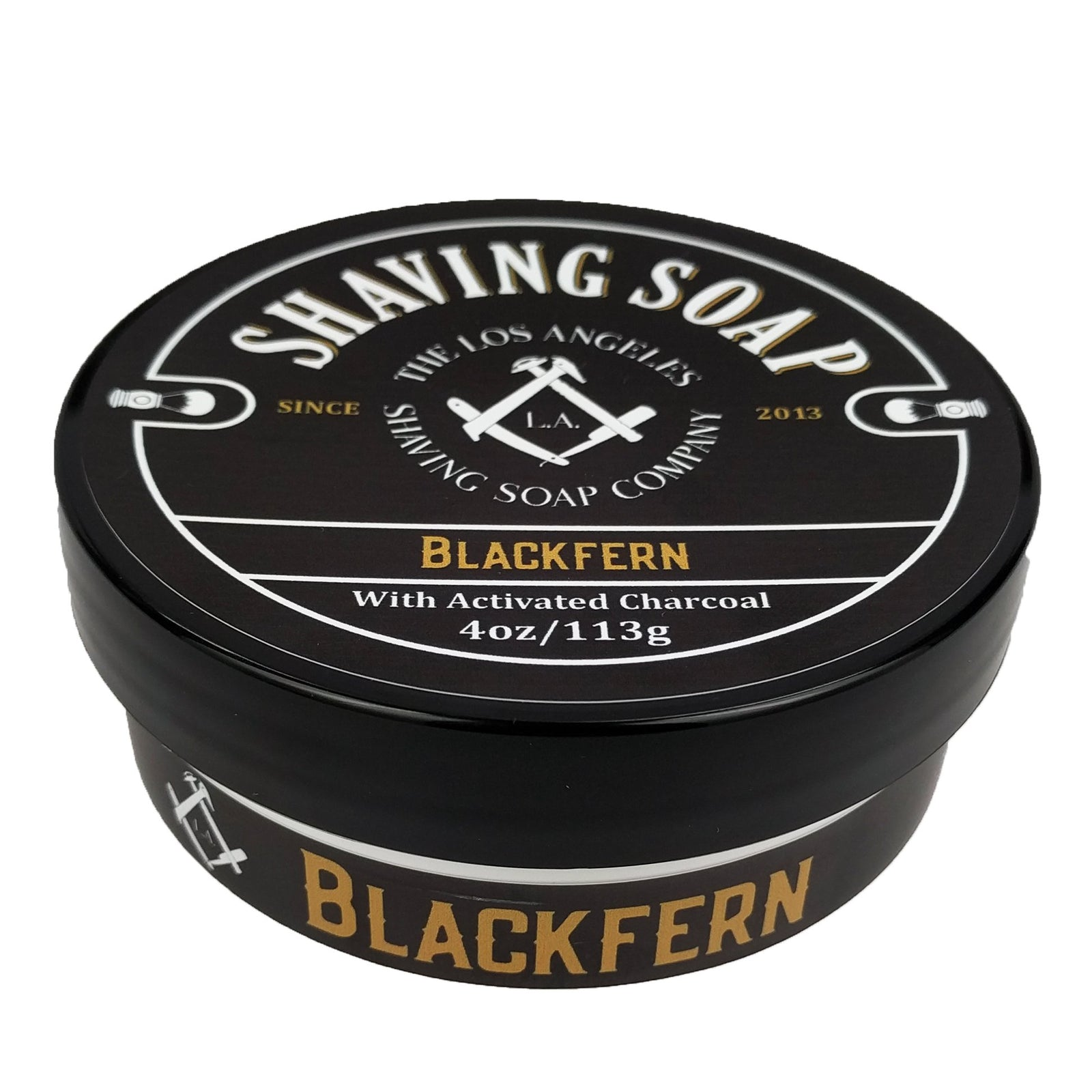 LA Shaving Soap Co - Blackfern Vegan Shaving Soap