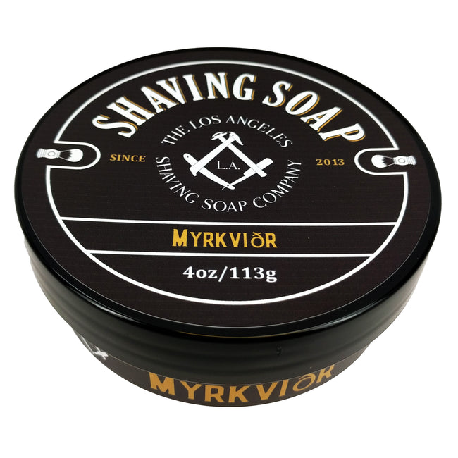 LA Shaving Soap Co – Myrkvidr Shaving Soap