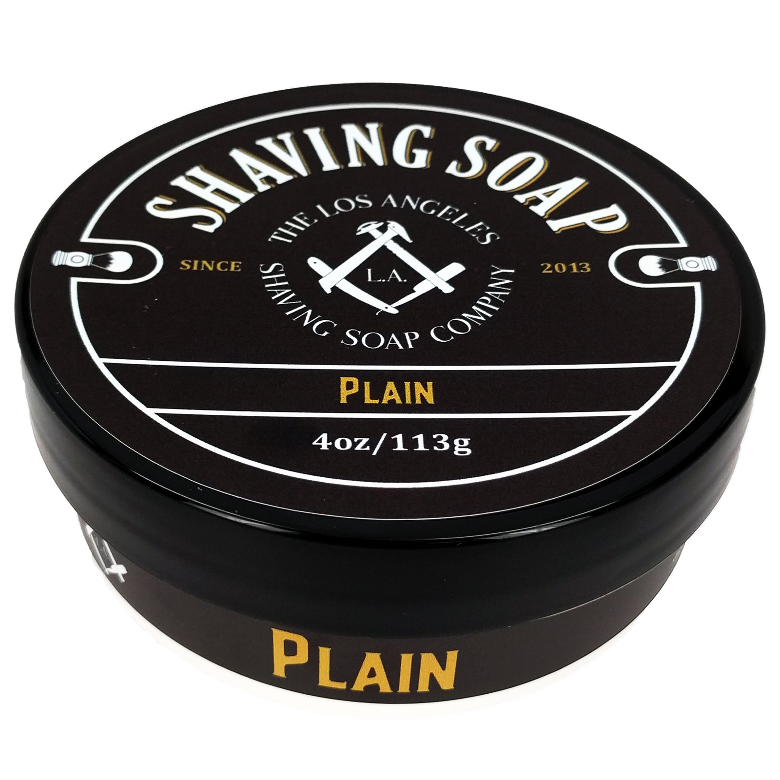 LA Shaving Soap Co – Plain Shaving Soap