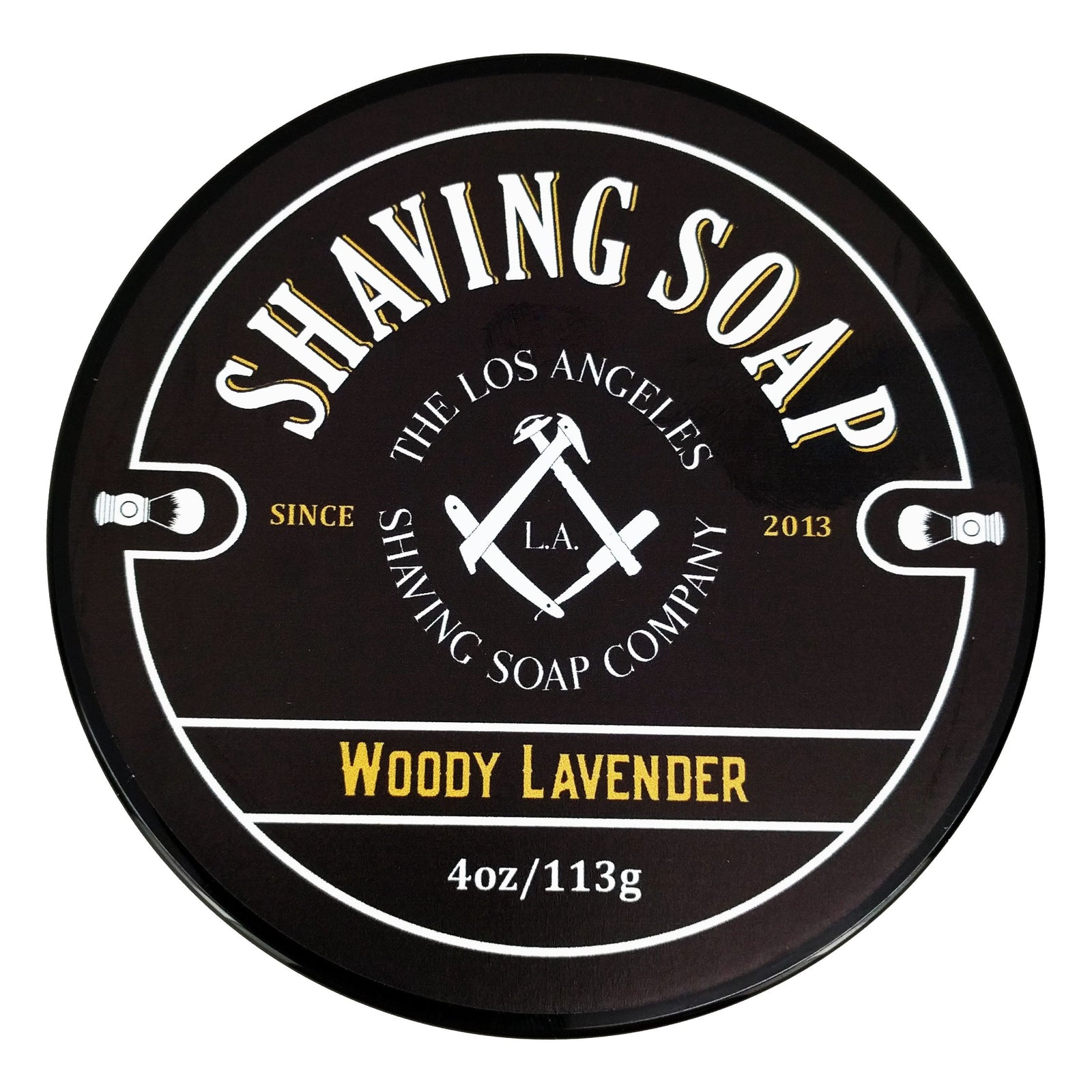 LA Shaving Soap Co. - Woody Lavender Shaving Soap