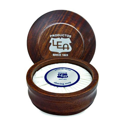 LEA Classic - Shaving Soap in Wooden Bowl (100g-3.5oz)