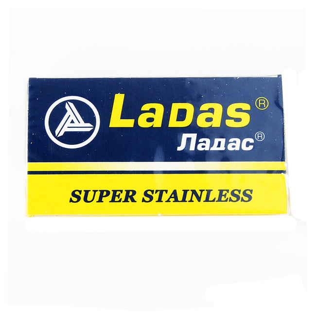 Ladas Super Stainless DE Safety Razor Blades - 5 pack