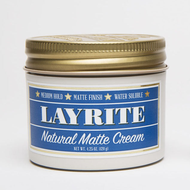 Layrite - Natural Matte Cream 4.25oz