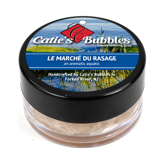 Catie's Bubbles - Le Marche du Rasage Shaving Soap Sample
