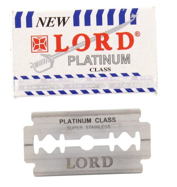 Lord Platinum DE Safety Razor Blades - 5 pack