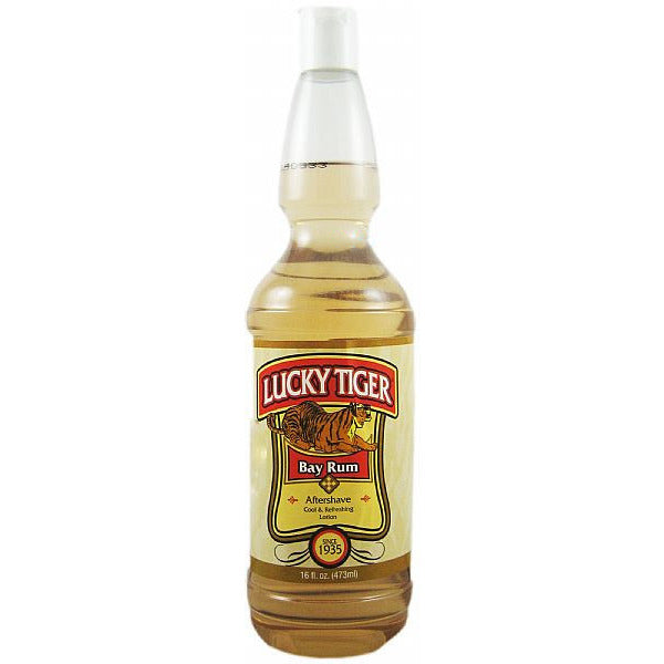 Lucky Tiger Bay Rum Aftershave 16oz