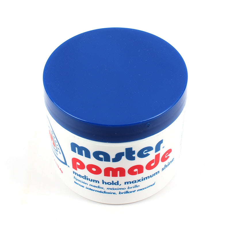 Master Pomade Medium Hold, Maximum Shine 4oz