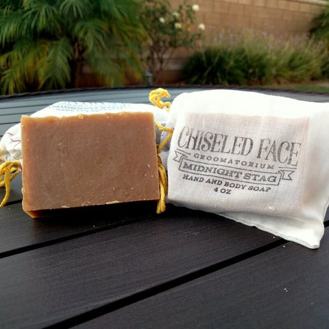 Chiseled Face – Pine Tar – Bath Soap