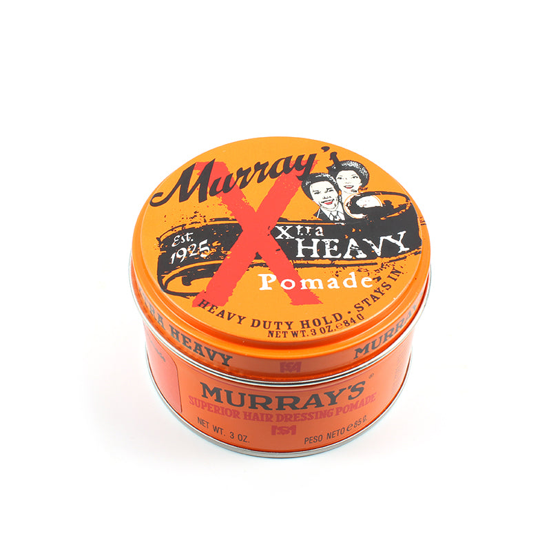 Murrays Pomade - Murrays X-Tra Heavy Pomade - Heavy Duty Hold 3oz