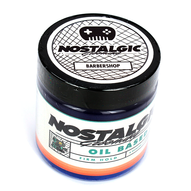 Nostalgic - Barbershop Firm Oil Based Firm Hold Pomade