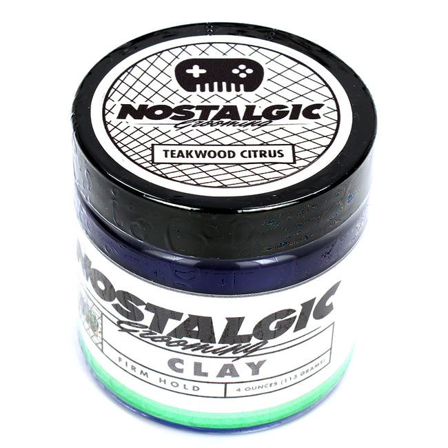 Nostalgic - Teakwood Citrus Clay Water Based Pomade