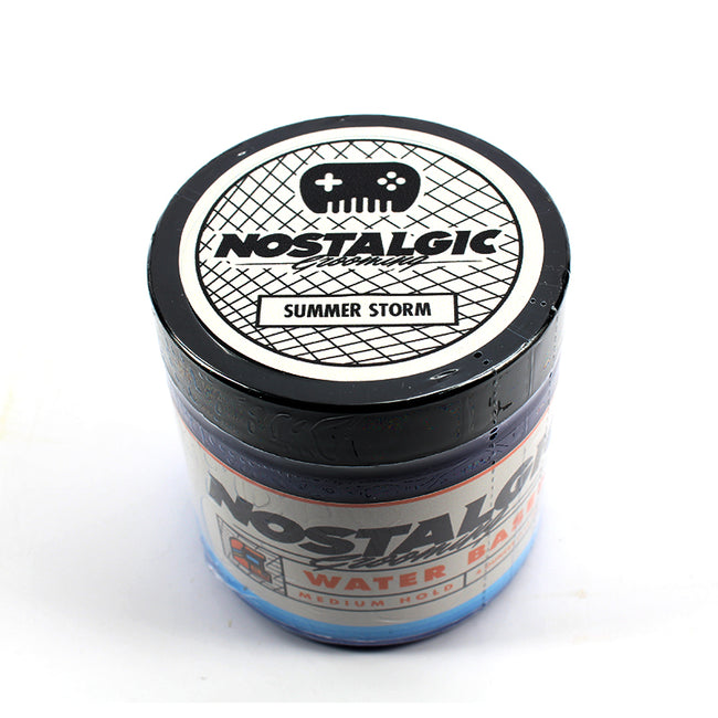 Nostalgic/Chiseled Face - Summer Storm Water Based Medium Hold Pomade