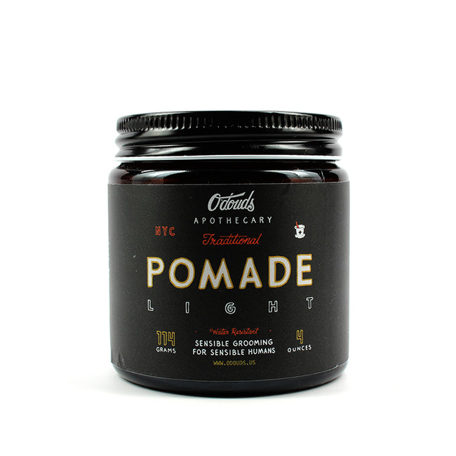 O'Douds - Traditional Pomade - Light, 4oz
