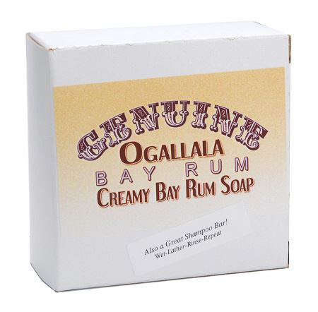 Ogallala – Bay Rum Bath Soap & Shampoo Bar