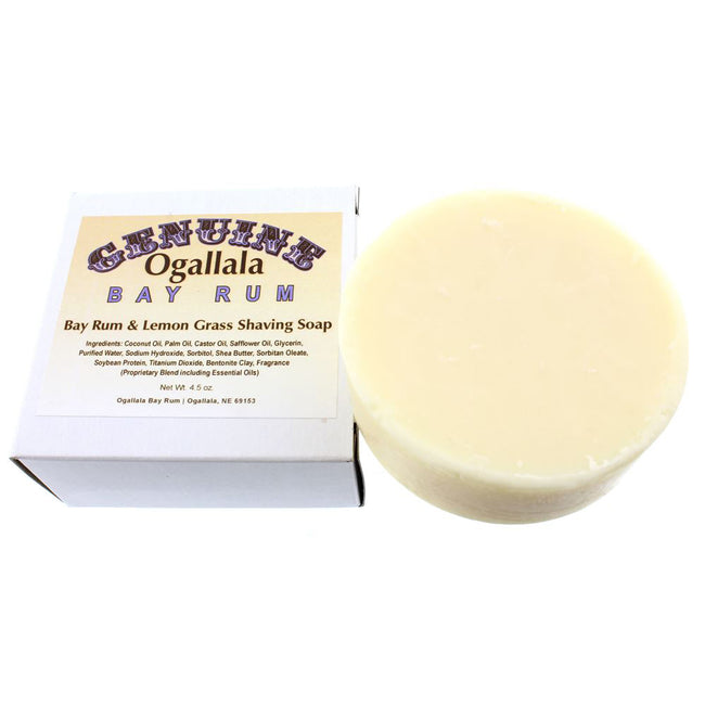 Ogallala – Bay Rum & Lemon Grass Shaving Soap 4.5oz