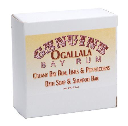 Ogallala – Bay Rum, Limes & Peppercorn Bath Soap & Shampoo Bar