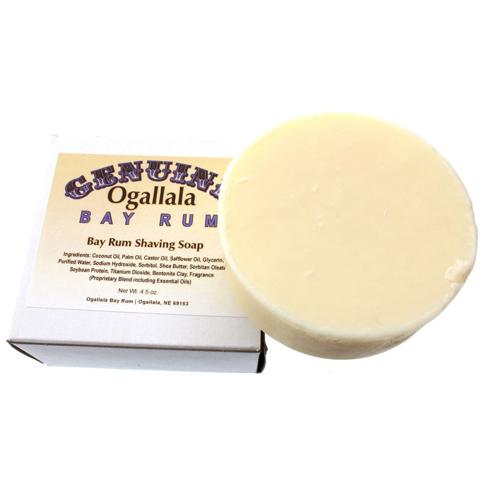 Ogallala – Bay Rum Shaving Soap 4.5oz