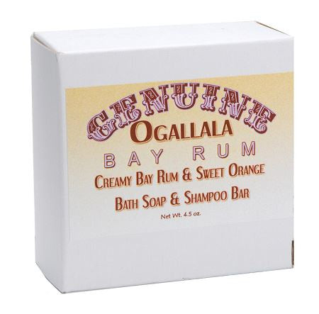 Ogallala – Bay Rum & Sweet Orange Bath Soap & Shampoo Bar