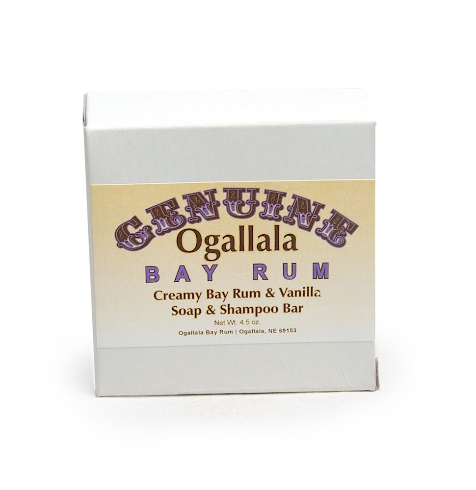 Ogallala – Bay Rum & Vanilla Bath Soap & Shampoo Bar