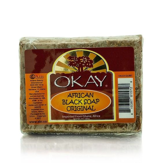 Okay African Black Original Soap 5 Ounces